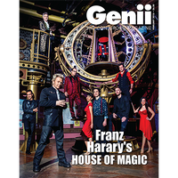 "Genii Magazine ""Franz Harary: House of Magic"" February 2016 - Book - Got Magic?"