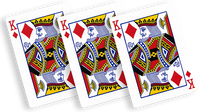 Flash Poker Card King of Diamonds (Ten Pack) - Trick - Got Magic?