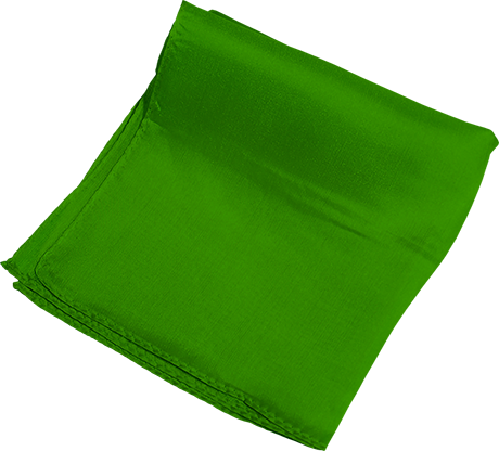 Silk 6 inch (Green) Magic By Gosh - Trick - Got Magic?