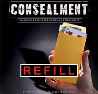Refill for ConSealment (10 pk) by Wayne Rogers - Trick - Got Magic?