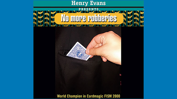 No More Robberies (Red) by Henry Evans - Trick - Got Magic?