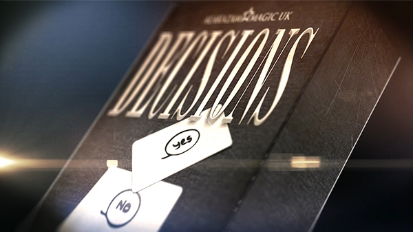 Decisions Yes/No Edition (DVD and Gimmick) by Mozique - DVD - Got Magic?