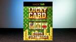 Lucky Card Blue (Gimmick and Online Instructions) by Costa Funtastico - Trick - Got Magic?