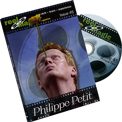 Reel Magic Episode 45 (Philippe Petit) - DVD - Got Magic?