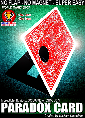 Paradox Card (Red) by Mickael Chatelain - Trick - Got Magic?