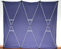 Lightweight Stage Curtain (Blue) by Nahuel Oliveria - Trick - Got Magic?