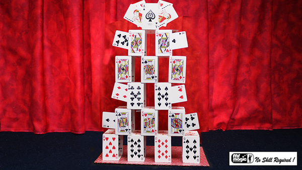 Card Castle with Six Card Repeat by Mr. Magic - Trick - Got Magic?