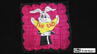 Production Hanky The End (36 inch  x 36 inch) by Mr. Magic - Trick - Got Magic?