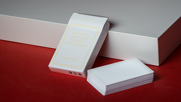 Magic Notebook Deck - Limited Edition (White) by The Bocopo Playing Card Company - Got Magic?