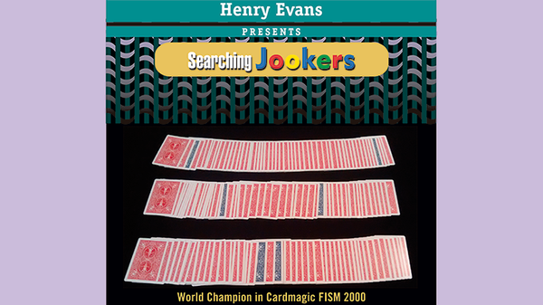 Searching Jookers (DVD and Blue Gimmicks) by Henry Evans - Trick - Got Magic?