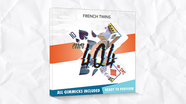 Error 404 (Blue) by Les French Twins - Trick - Got Magic?