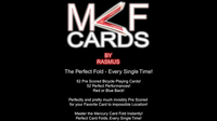 MCF Cards (Blue) by Rasmus - Trick - Got Magic?