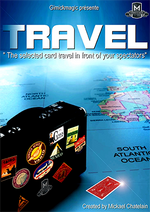 TRAVEL (Red) by Mickael Chatelain - Trick - Got Magic?