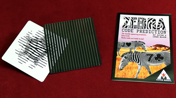 Zebra Code Prediction by Astor and Louis Black - Trick - Got Magic?