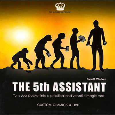 5th Assistant (Gimmick and DVD) by Geoff Weber and The Blue Crown - DVD - Got Magic?