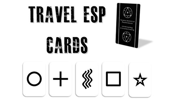 Travel ESP Cards (Gimmicks and Online Instructions) by Paul Carnazzo - Trick - Got Magic?
