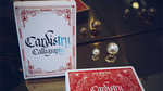 Cardistry Calligraphy (Red) Playing Cards - Got Magic?