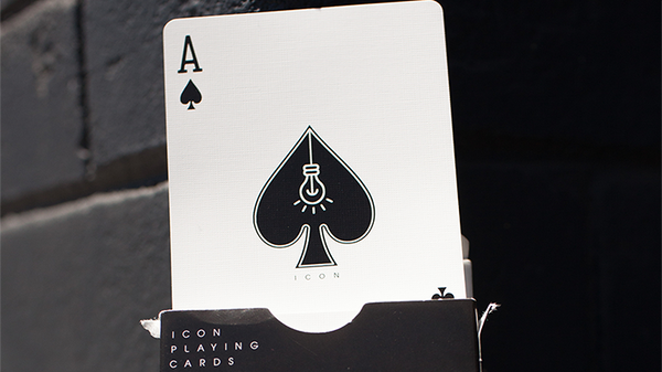 ICON BLK Playing Cards by Pure Imagination Project - Got Magic?