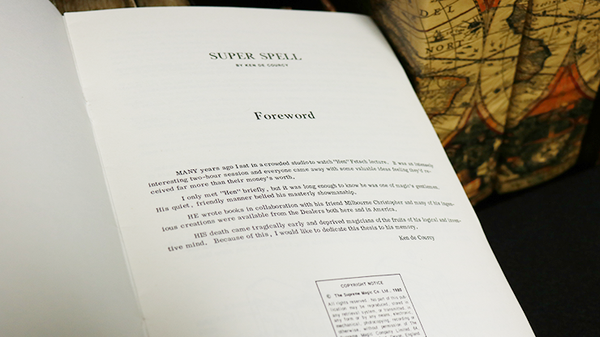 Super Spell by Ken De Courcy - Book - Got Magic?