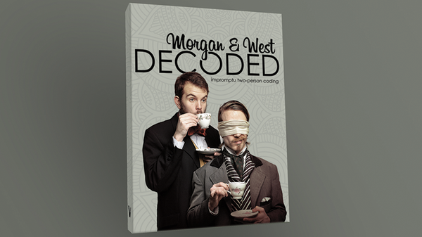 Decoded by Morgan and West - DVD - Got Magic?