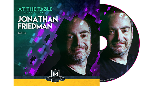 At The Table Live Jonathan Friedman - DVD - Got Magic?