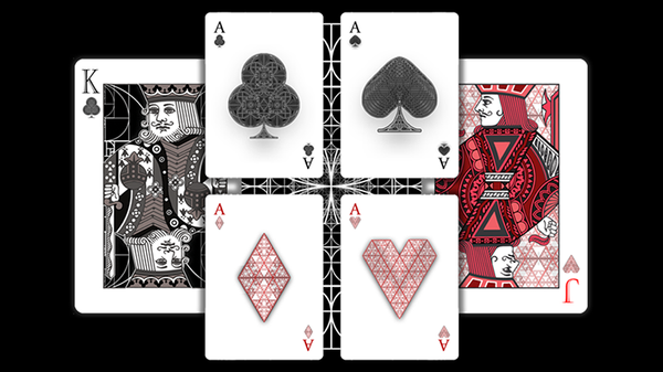 Fibs Playing Cards (White) - Got Magic?