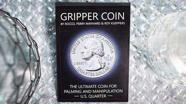 Gripper Coin (Single/U.S. 25) by Rocco Silano - Trick - Got Magic?