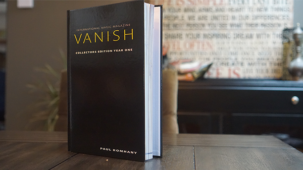 VANISH MAGIC MAGAZINE Collectors Edition Year One (Hardcover) by Vanish Magazine - Book - Got Magic?