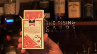 Alakazam Magic Presents The Rising Cards Blue (DVD and Gimmicks) by Rob Bromley - Trick - Got Magic?