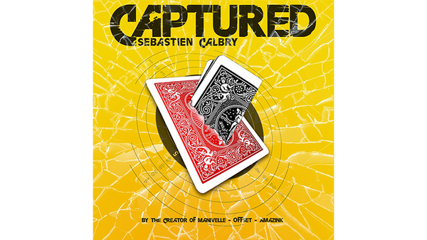 CAPTURED Blue (Gimmick and Online Instructions) by Sebastien Calbry - Trick - Got Magic?