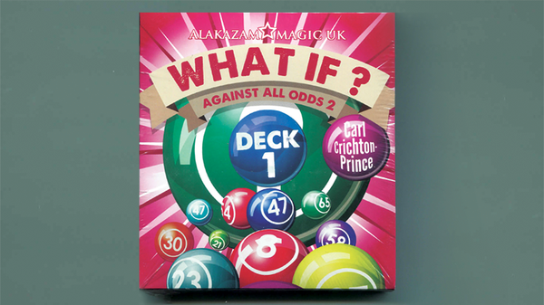 What If? (Deck 1  Gimmick and DVD) by Carl Crichton-Prince - DVD - Got Magic?