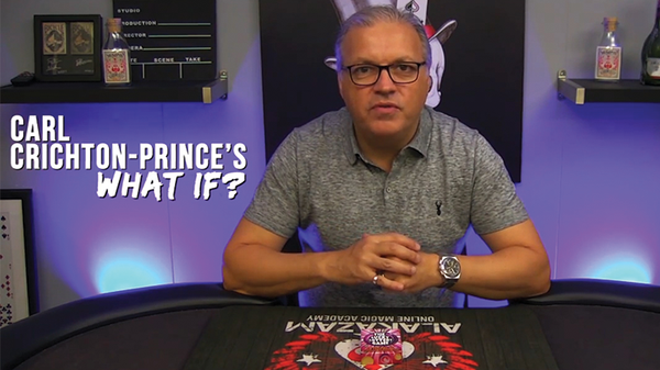 What If? (Deck 2  Gimmick and DVD) by Carl Crichton-Prince - DVD - Got Magic?