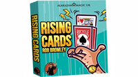 Alakazam Magic Presents The Rising Cards Red (DVD and Gimmicks) by Rob Bromley - Trick - Got Magic?
