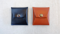 Square Coin Case (Brown Leather) by Gentle Magic - Trick - Got Magic?