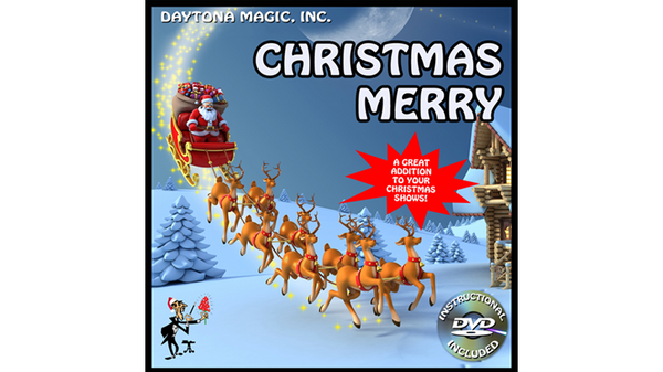 CHRISTMAS MERRY by Daytona Magic - Trick - Got Magic?