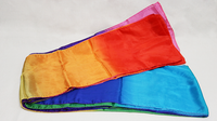 Multicolored Silk Streamer 9 inch by 30 ft from Magic by Gosh - Got Magic?