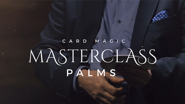 Card Magic Masterclass (Palms) by Roberto Giobbi - DVD - Got Magic?