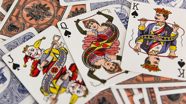 Circus No. 47 (Blue) Playing Cards - Got Magic?