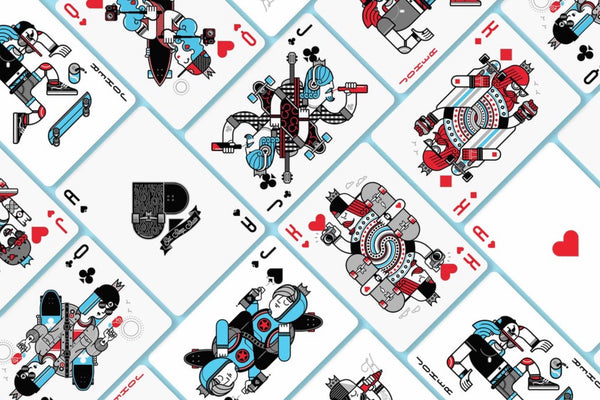 Skateboard Playing Cards