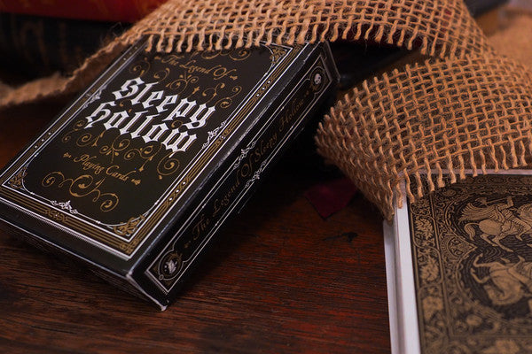 Sleepy Hollow Playing Cards // 1st Edition