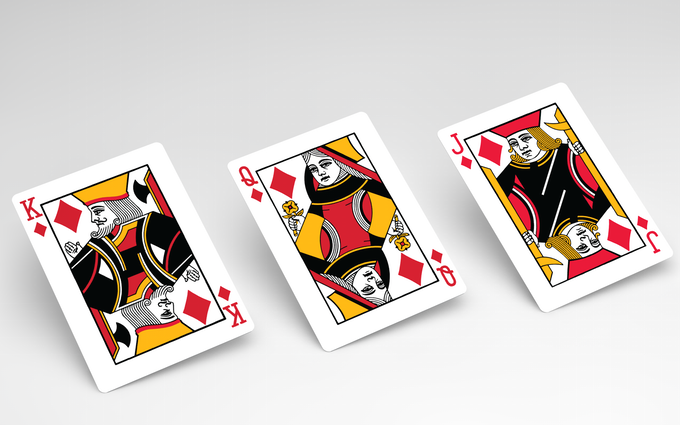 Saturn Playing Cards (Red October)