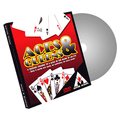 Aces and Queens (Cards Color Varies) by Astor - Trick - Got Magic?