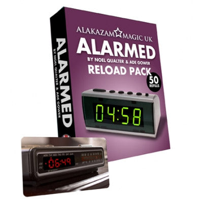 Alarmed RELOAD by Noel Qualter, Ade Gower and Alakazam Magic - Trick - Got Magic?