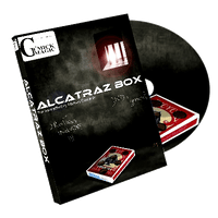 Alcatraz Box (RED Gimmick and DVD) by Mickael Chatelain - DVD - Got Magic?