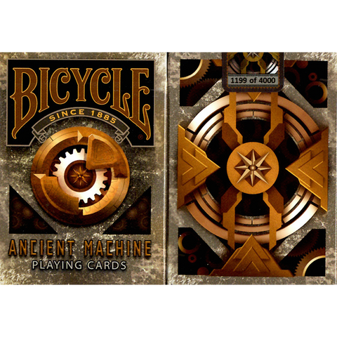 Bicycle Ancient Machine Playing Cards Limited Edition (Numbered)