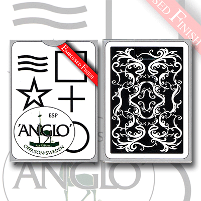 Anglo ESP Deck (black) - by El Duco - Trick - Got Magic?
