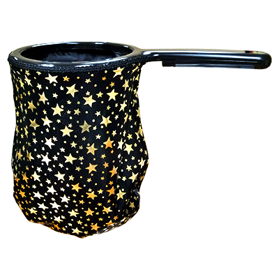 Change Bag Stars (Black/Gold Stars/Black Rim) by Bazar de Magia - Trick - Got Magic?