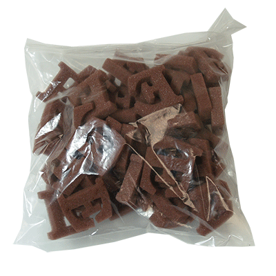 Brown E's (50 piece) by Magic by Gosh  - Trick