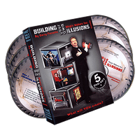 Building Your Own Illusions, The Complete Video Course by Gerry Frenette (6 DVD Set)- DVD - Got Magic?