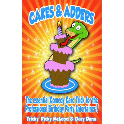 Cakes and Adders (DVD and Gimmicks Poker size) by Gary Dunn and World Magic Shop - DVD - Got Magic?